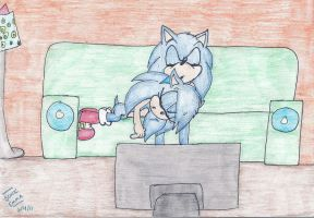 :AT: Sonar and Sonic by Sonicemma