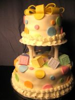 Baby Shower Dot Dot by CrystalSanteria