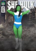Margie Vizcarra Cox as She-Hulk by KustomKomiks