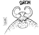 GromTheDemon  Feb25 by mattcrap
