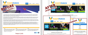 PSD to HTML (FuzzyPunch) by Lord-of-Rappigs