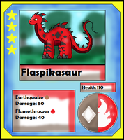 Flaspikasaur Card (Adopt) by Dianamond