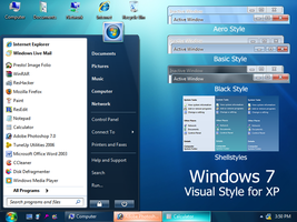 Windows 7 with Search Bar by Vher528