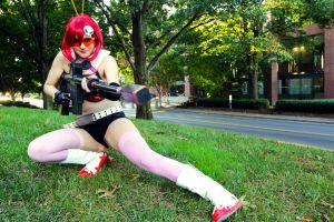 Yoko Littner Cosplay by Hikari-Cosplay