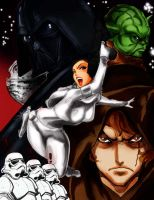 StarWars by Reiq Colored by Rene-L