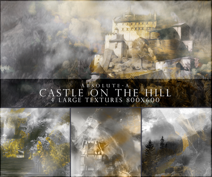 Castle on the hill |Textures Pack#6| by Absolute-A