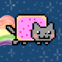Nyan Cat by Melaponis