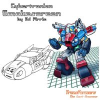 Cybertronian Smokescreen by TF-The-Lost-Seasons