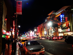 Hollywood blvd night by Worldboy1