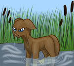 Fishing not a strong point (app to warrior) by Glitter-Stitch