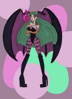My Sexy bad Morrigan by SweetAbril