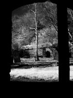 @ The ruined church at Heptonstall (infrared) by GaryTaffinder