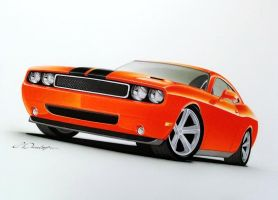 Challenger Rendering by PinstripeChris