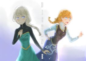 Distance of Heart by Suzy-ISAW