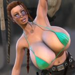 Lara Croft Hanging Out Close Up by willdial