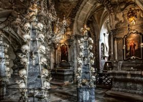Ossuary in Sedlec I by pingallery