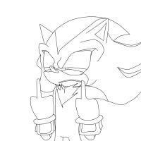 Shadow Tumut - Lineart by rAndoMCitIzen12