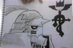 ALPHONSE ELRIC by hayameh03