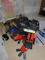 Warhound Titan Warhammer 40k Paper Model by BHAAD