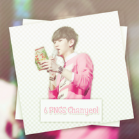 6PNGS-Chanyeol-ByJenmoon by JenMoon