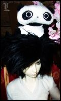 Death Note BJD: Mini Mr. Panda by Maru-Light