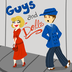 Guys and Dolls by MousieDoodles