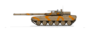 T-95 Indian Army Desert by MacPaul
