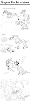 Fire Form Moves by DragonRider428