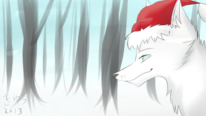Artic Fox by Q-mii