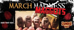 Zombie Toes March Maggots ad by Parabolastar
