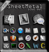 SheetMetal Icons by cddoulos