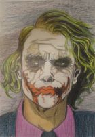 The Joker Why So Serious? by Alecobain26