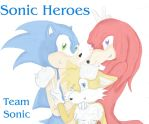 Team Sonic by Candyfloss-Unicorn