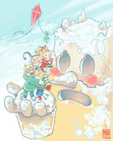 Dungeon Holiday by P-RO