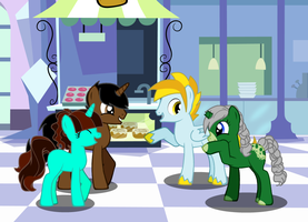 [Pony Creator] A meet up at the Train Station by LR-Studios