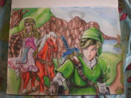 Legend of Zelda by Hades595