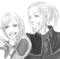 DA Anders and Cato by drathe