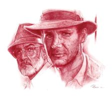 indiana jones by reniervivas666