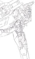 GN-0000+GNR-010A 00 Raiser by StrikeRougeMk2