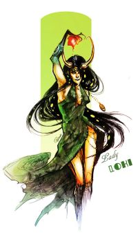 Lady Loki by Psyche-Evan