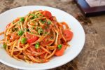 Fresh Pesto Tomato Spaghetti by Demi-Plum