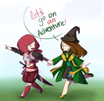 Let's go on an adventure! by otherworldlyobserver