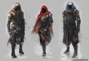 Rogue Character Concept by chanmeleon