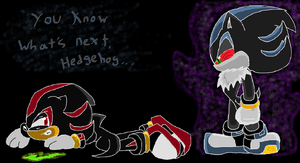 Mephadow- You know what's next, Hedgehog by SonicSketch