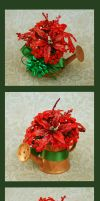 Miniature Christmas Arrangement by PoppyCorn99