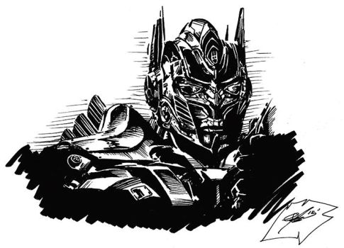 Optimus Prime by the-Jeb-D