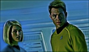 Kirk and Carol by ColonelFlagg