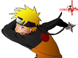 [Render] Naruto shuriken by Faqquscarp