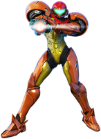Samus SSBU KeyShot render by ArRoW-4-U