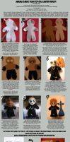 Basic Plush Toy Tutorial by KeyshaKitty